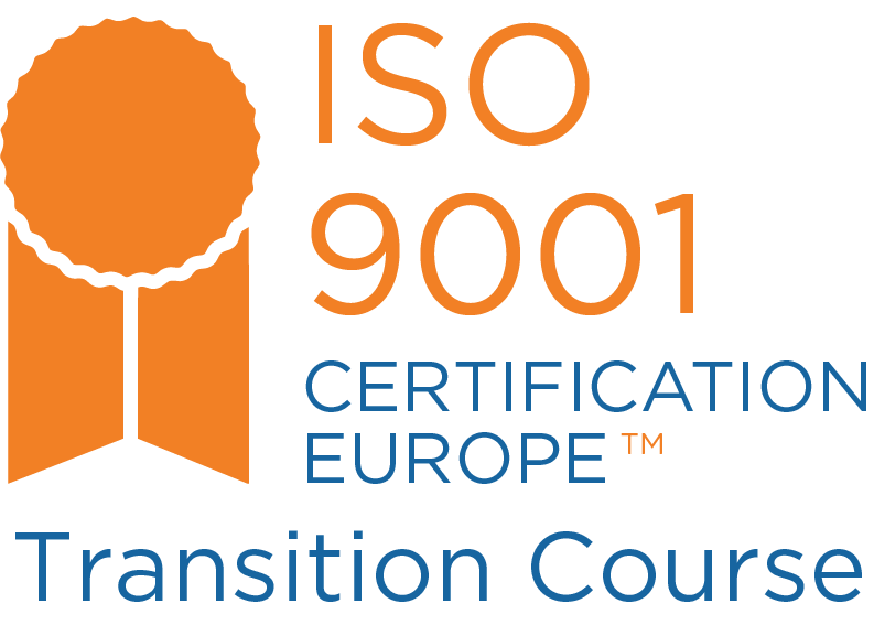 Iso 90012015 Transition Course Certification Europe Training